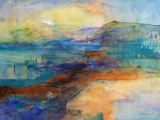 carol readman nz watercolour art and contemporary abstract landscapes
