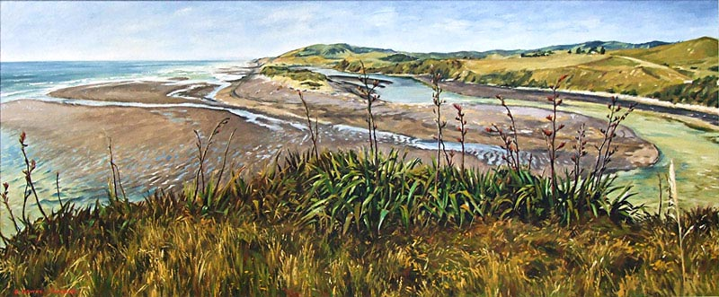 Graham Downs nz landscape oil painter, fine artist