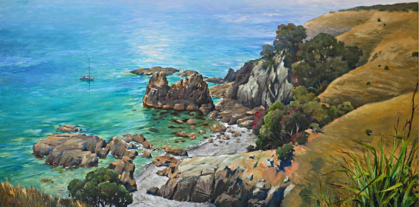 Graham Downs NZ landscape fine art painter