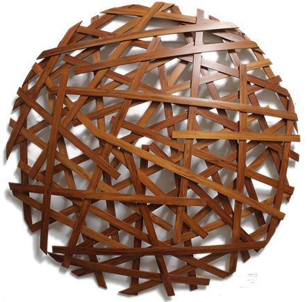 jamie adamson nz steam bent wooden wall sculptures