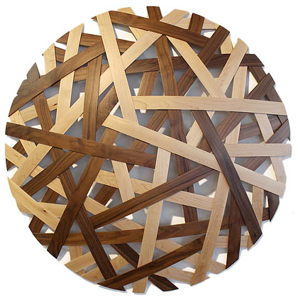 Jamie Adamson wooden wall sculpture