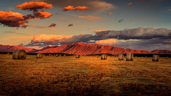Michelle Durrant nz fine art photography, mackenze landscape