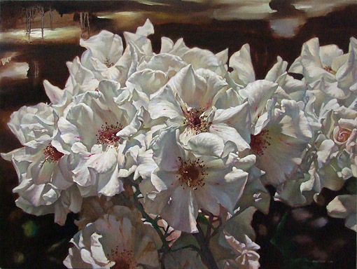 zoe feng painter and artist of nz flowers and still life