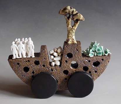 brendan adams nz ceramic art and sculpture