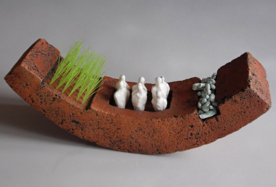 brendan adams nz ceramic sculptures