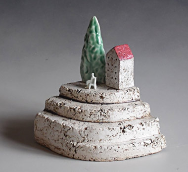 brendan adams nz ceramic sculpture