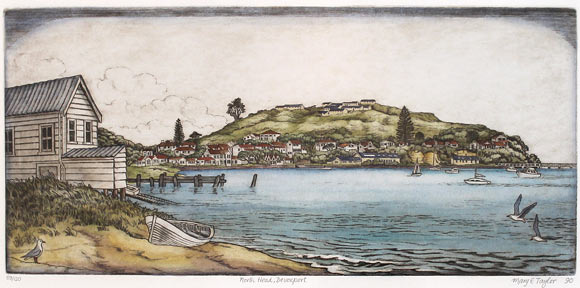 Mary Taylor nz fine art prints and etchings