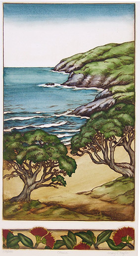 Mary Taylor nz etchings