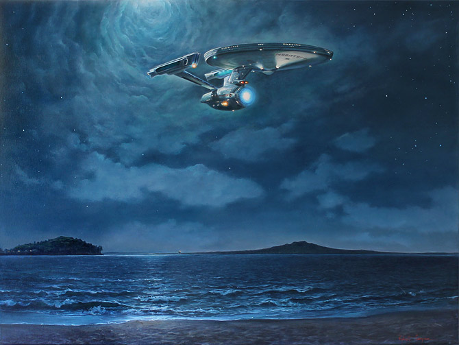 Robert Campion nz surrealist artist, enterprise